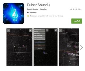 Pulsar Sound Phone App Bulent Kiziltan